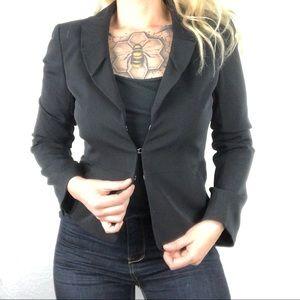 Ann Taylor blazer Hook Eye Closure Lined Jacket 4P